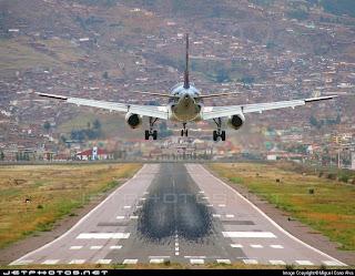 Desarrollo Peruano Nuevo Aeropuerto Internacional En Cusco Divisando Pista