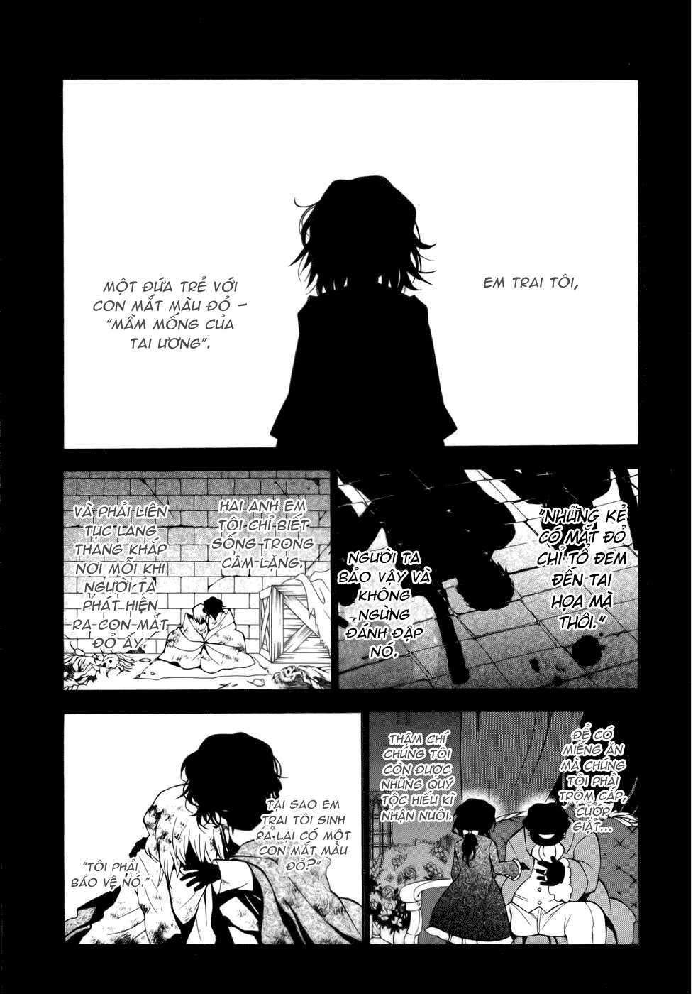 Pandora Hearts chương 038 - retrace - xxxviii scapegoat trang 2