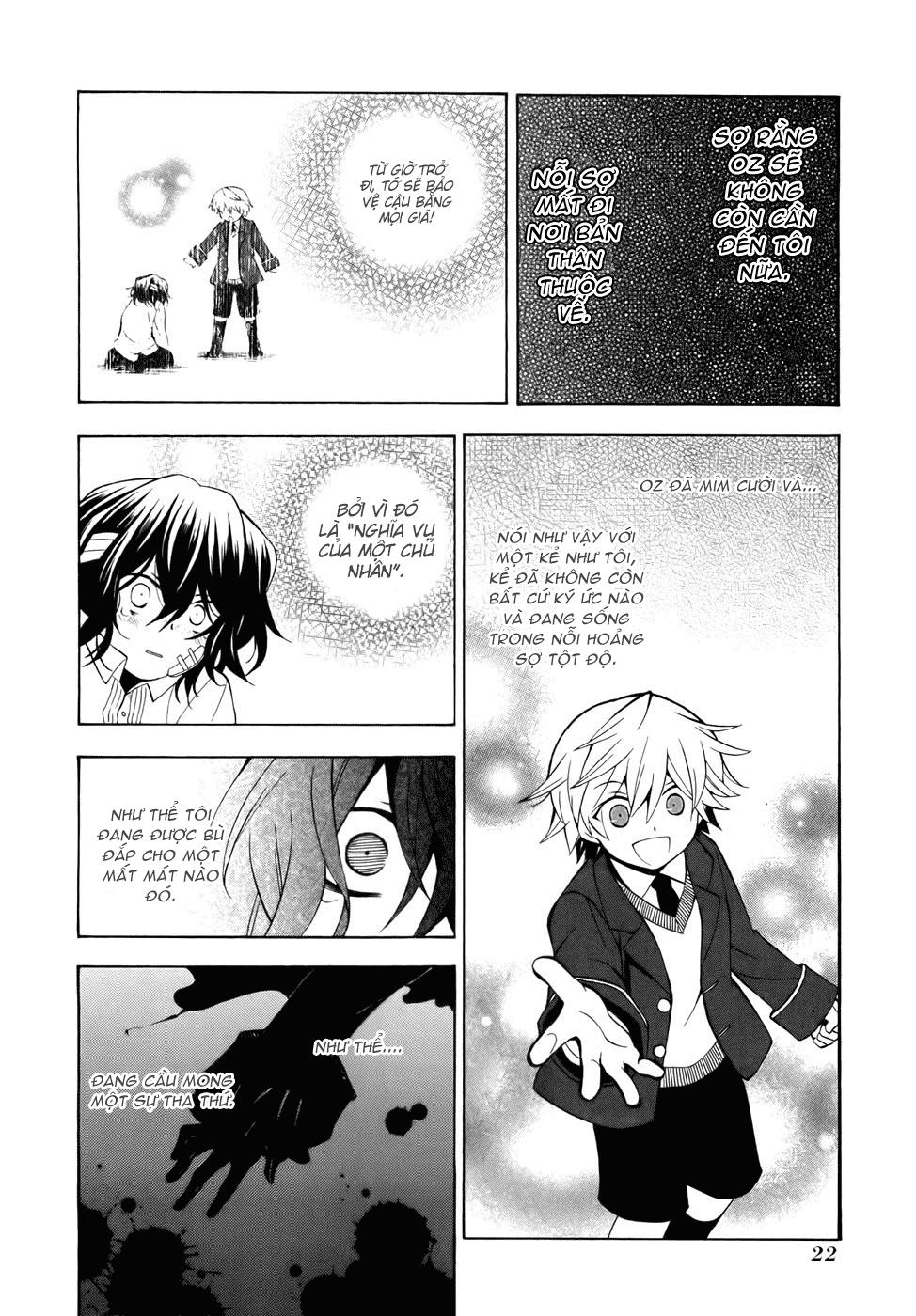 Pandora Hearts chương 038 - retrace - xxxviii scapegoat trang 21