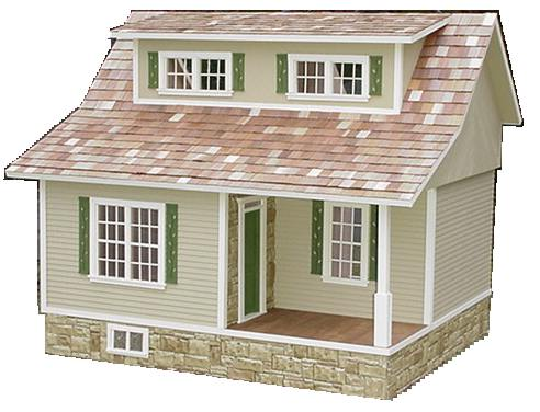 A Word About Scale Five Dollar Dollhouse