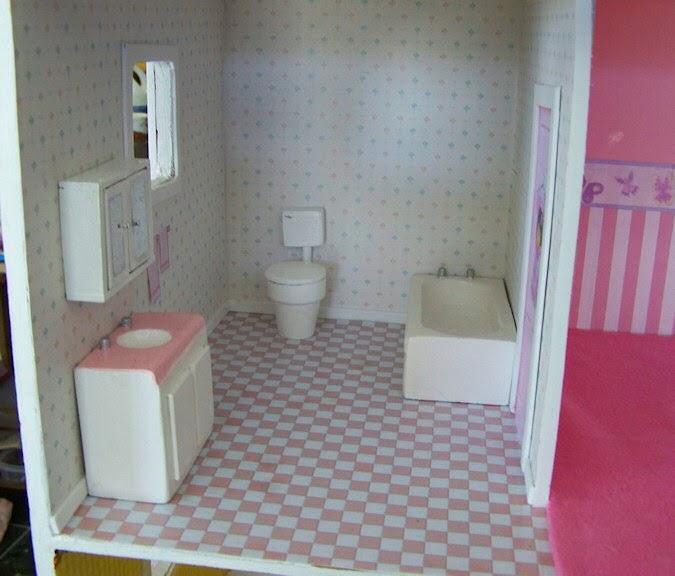 How I Made The Bathroom Fixtures Toilet Five Dollar