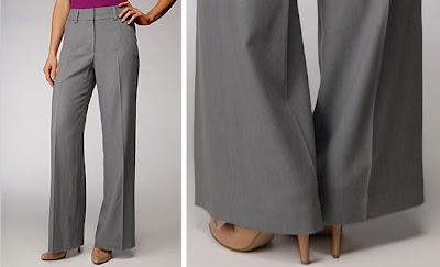 дамски панталон скъсяване