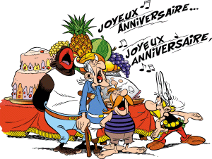 Fle-Xallas: JOYEUX ANNIVERSAIRE, ASTÉRIX!!!