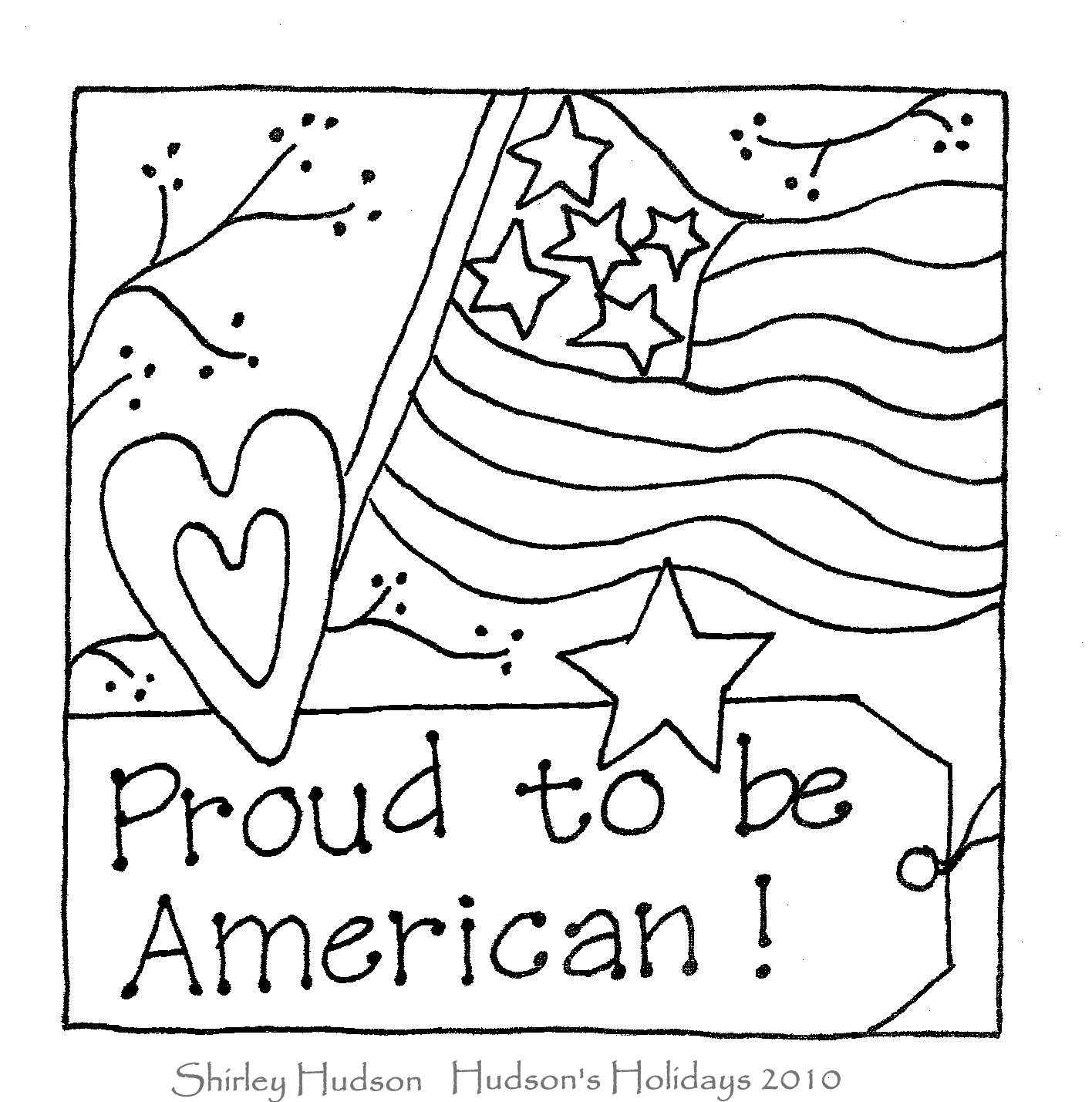 patriotic coloring pages - photo#18