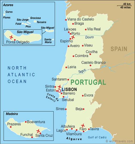 Islas De Portugal Mapa.Islas De Portugal Mapa Mapa Runtothemoonandback