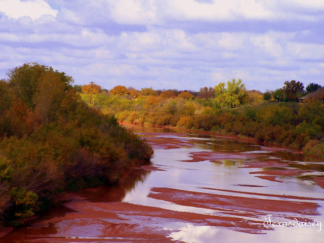 Brazos River that runs next to Seymour, Texas