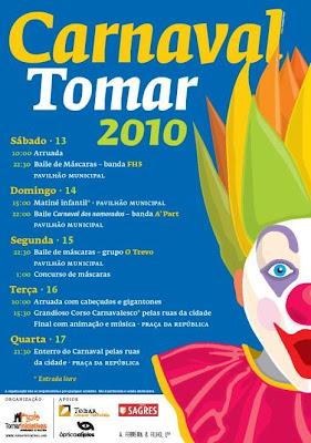 Resultado de imagem para imagens dos cartazes do carnaval de tomar