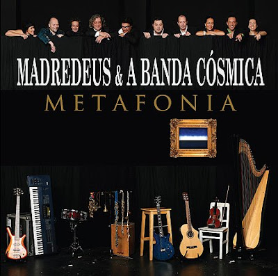 Capa do novo disco dos Madredeus «Metafonia»