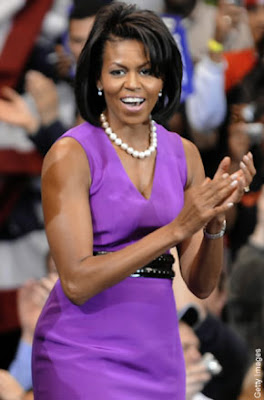 michelle obama returns to washington
