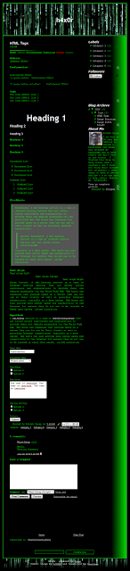 h4x0r ( Hacker ) - Blogger Template - Best 2 Know