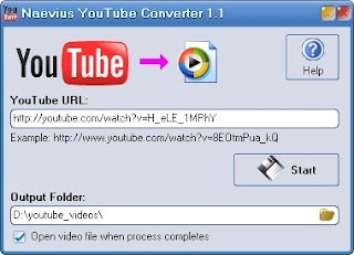 Naevius YouTube Converter 1.2 Portable