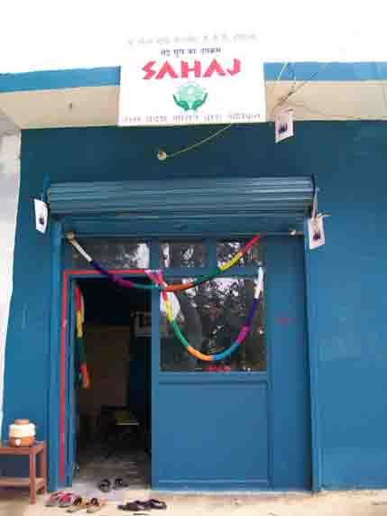 lbs helping hand for all: About SAHAJ