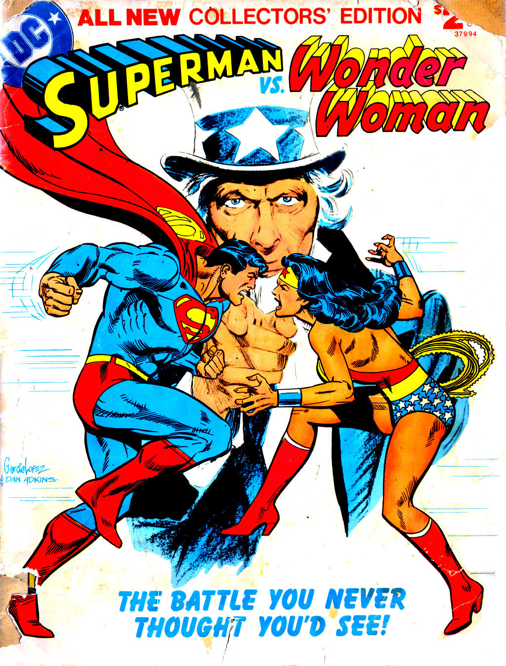 Comics Shop: Superman vs. Wonder Woman