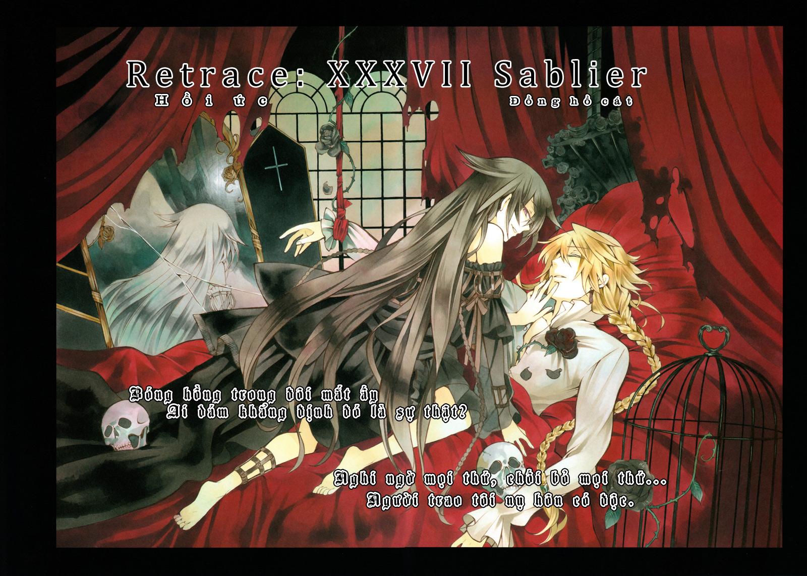 Pandora Hearts chương 036 - retrace: xxxvi sablier trang 3