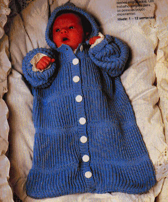 14f413e6ab03 Tricotando carinho: SACO DE DORMIR EM TRICÔ