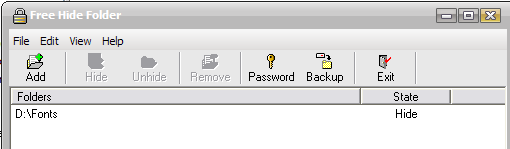 How to hide private folders in XP