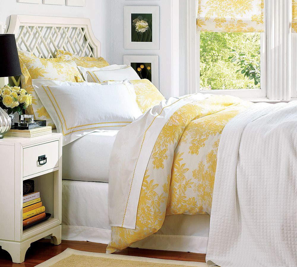 Yellow And Grey Bedroom Themes: Yellow And Grey Bedroom Decorating Ideas