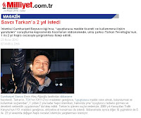 Milliyet reports that prosecutors are asking for a jail term for Tarkan too
