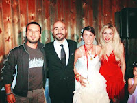 Tarkan at wedding
