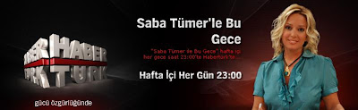 Tonight with Saba Tümer on Haberturk TV