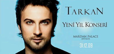 Tarkan's end of year show in Antalya