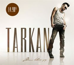 Cover to Tarkan's 2010 album