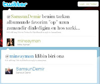 Screencap of Demir tweet