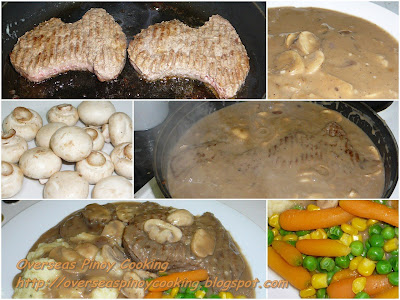 Salisbury Steak, Burger Steak - Cooking Procedure