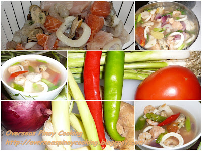 Pinoy Mixed Seafood Soup - Gallery