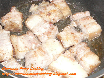 Pork Afritada - Cooking Procedure