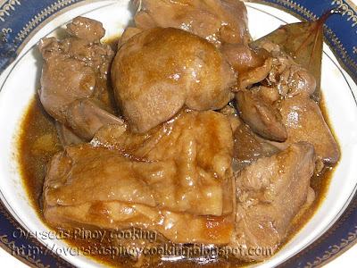 Chicken Adobo in Oyster Sauce