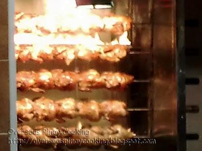 Arabic Roasted Chicken In Rotisserie