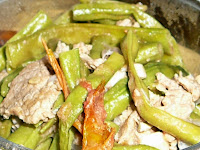 String Beans with Beef