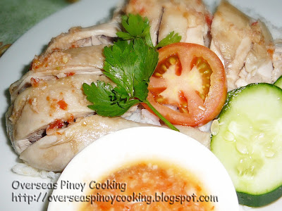 Hainanese, Hainese Chicken Rice