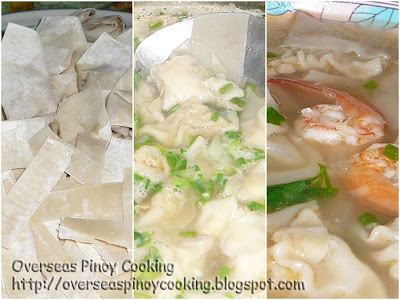 Pancit Molo - Cooking Procedure