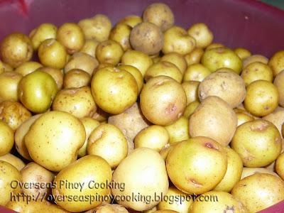 Baby Potato Salad - Young Potatoes