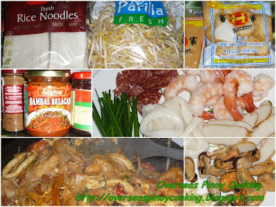 Pinoy Char Kuey Teow - Cooking Procedure