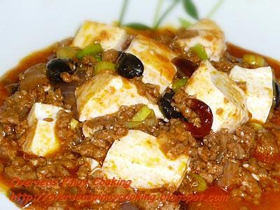 Spicy Mapo Tofu - Cubed