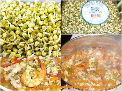 Sautéed Mung Bean Sprouts - Cooking Procedure