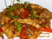 Chicken Stirfry with Hoisin Sauce