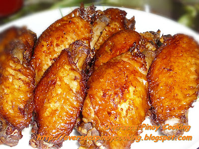 Fried Adobo Chicken Wings