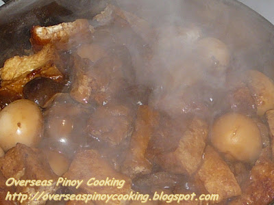 Special Adobo - Cooking Procedure