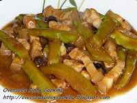 Pork Ampalaya with Black Beans