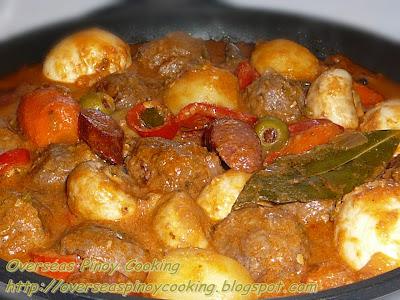 Beef Meatballs Kaldereta Special