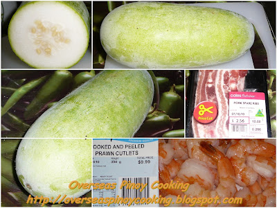 Sautéed Hairy Melon, Pinoy Upo Style - Cooking Procedure