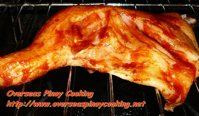 Pinoy Chicken Barbecue - Cooking Procedure