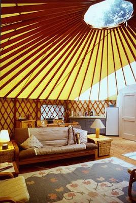 Gypsy Cloth Yurt Living