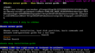 Linux server tutorials: Command line web browser in Linux
