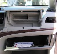 2011 Toyota Sienna glove box