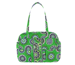 green patterned handbags, Vera Bradley spring collection